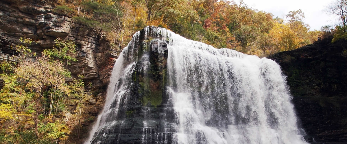 Burgess Falls State Park, Located On The Falling Water River Is Noted For  Its Natural Beauty And Four Waterfalls That Cascade Down From Over 250 Feet  In ...